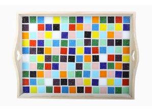 Cristallo Mozaiek pakket Dienblad MAXI nr. 1