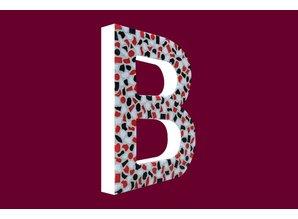 Cristallo Mozaiek pakket Letter B Stoer