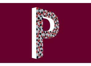 Cristallo Mozaiek pakket Letter P Stoer