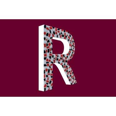 Cristallo Mozaiek pakket Letter R Stoer