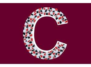 Cristallo Mozaiek pakket Letter C Stoer