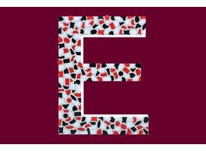 Cristallo Mozaiek pakket Letter E Stoer