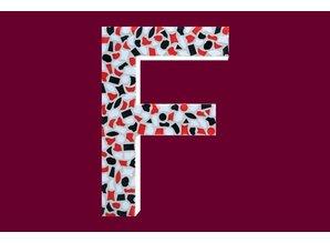 Cristallo Mozaiek pakket Letter F Stoer