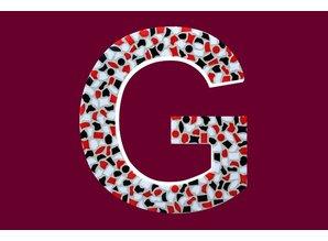 Cristallo Mozaiek pakket Letter G Stoer