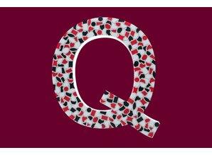 Cristallo Mozaiek pakket Letter Q Stoer