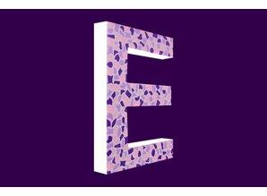 Cristallo Mozaiek pakket Letter E Zacht
