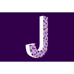 Cristallo Design Zacht, Letter J
