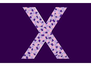 Cristallo Mozaiek pakket Letter X Zacht