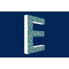Cristallo Design Fris, Letter E