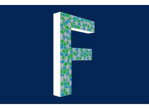 Cristallo Mozaiek pakket Letter F Fris