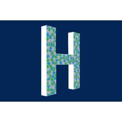 Cristallo Design Fris, Letter H