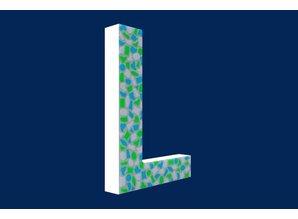 Cristallo Mozaiek pakket Letter L Fris