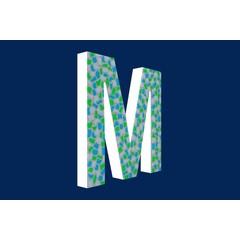 Cristallo Design Fris, Letter M
