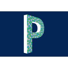 Cristallo Design Fris, Letter P