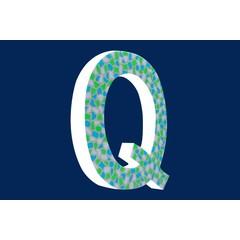 Cristallo Design Fris, Letter Q