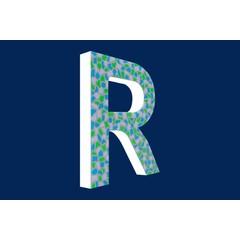 Cristallo Design Fris, Letter R