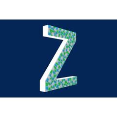 Cristallo Design Fris, Letter Z
