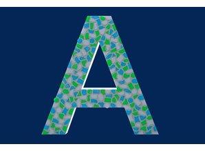 Cristallo Mozaiek pakket Letter A Fris