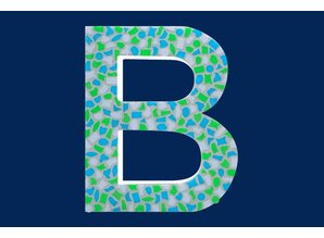 Cristallo Mozaiek pakket Letter B Fris