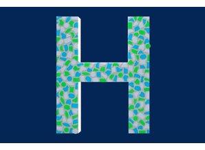 Cristallo Mozaiek pakket Letter H Fris