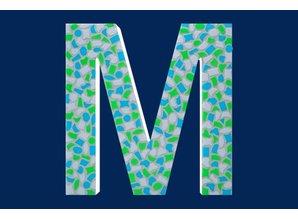 Cristallo Mozaiek pakket Letter M Fris