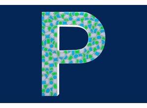 Cristallo Mozaiek pakket Letter P Fris