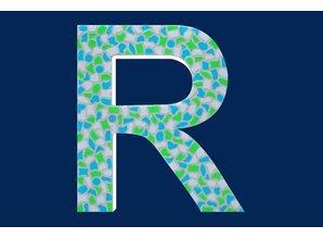 Cristallo Mozaiek pakket Letter R Fris