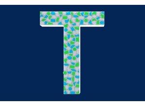 Cristallo Mozaiek pakket Letter T Fris