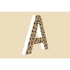 Cristallo Design Warm, Letter A