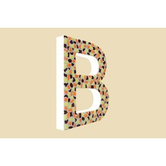 Cristallo Design Warm, Letter B