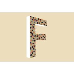 Cristallo Design Warm, Letter F