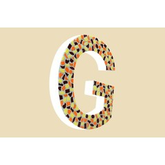 Cristallo Design Warm, Letter G