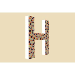 Cristallo Design Warm, Letter H