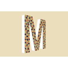 Cristallo Design Warm, Letter M