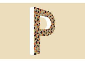 Cristallo Mozaiek pakket Letter P Warm