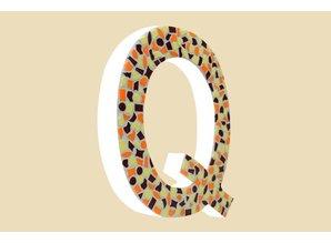 Cristallo Mozaiek pakket Letter Q Warm
