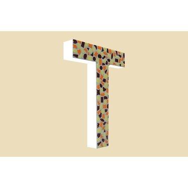 Cristallo Mozaiek pakket Letter T Warm