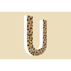 Cristallo Design Warm, Letter U