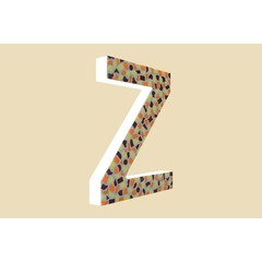 Cristallo Design Warm, Letter Z