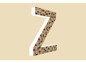 Cristallo Mozaiek pakket Letter Z Warm