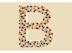 Cristallo Mozaiek pakket Letter B Warm