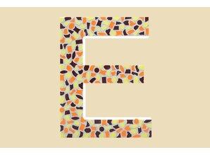 Cristallo Mozaiek pakket Letter E Warm