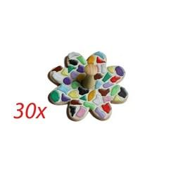 Cristallo Kledinghanger 30 stuks Bloem mozaiekpakket