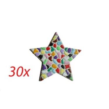 Cristallo STER 30 stuks Mozaiek pakket MIX