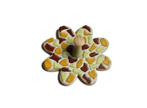 Cristallo Kledinghanger 30 stuks Bloem Mozaiek pakket