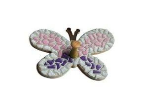 Cristallo Kledinghanger 30 stuks Vlinder Mozaiek pakket