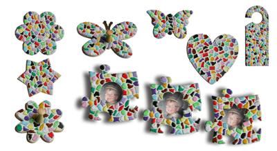 Mozaiekpakketten voor scholen
