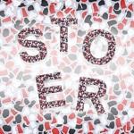 Mozaiek letters design Stoer