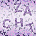 Mozaiek letters design Zacht