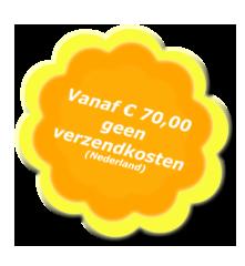 Gratis verzending vanaf € 70,00